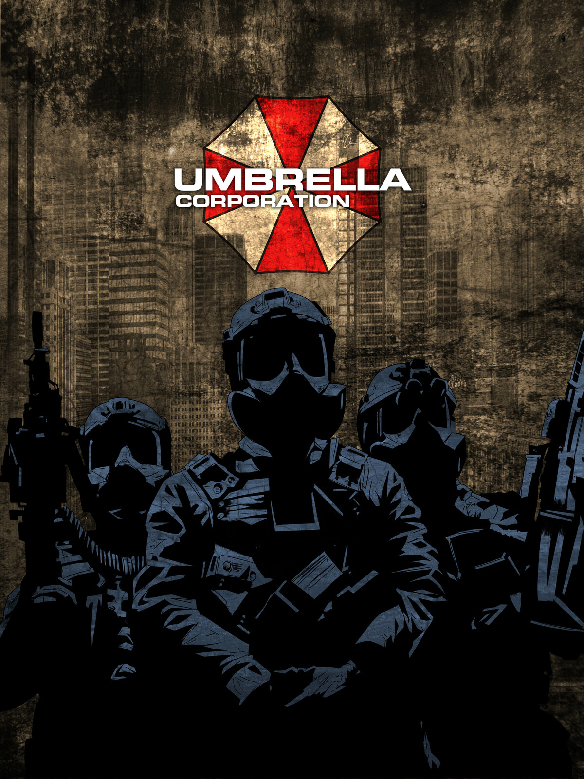 Umbrella Soldiers