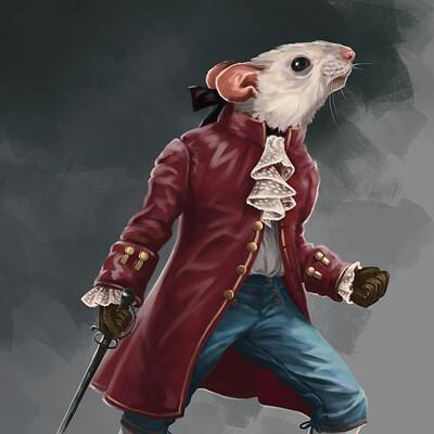 Margarita bourkova 202004 gentilhomme rat