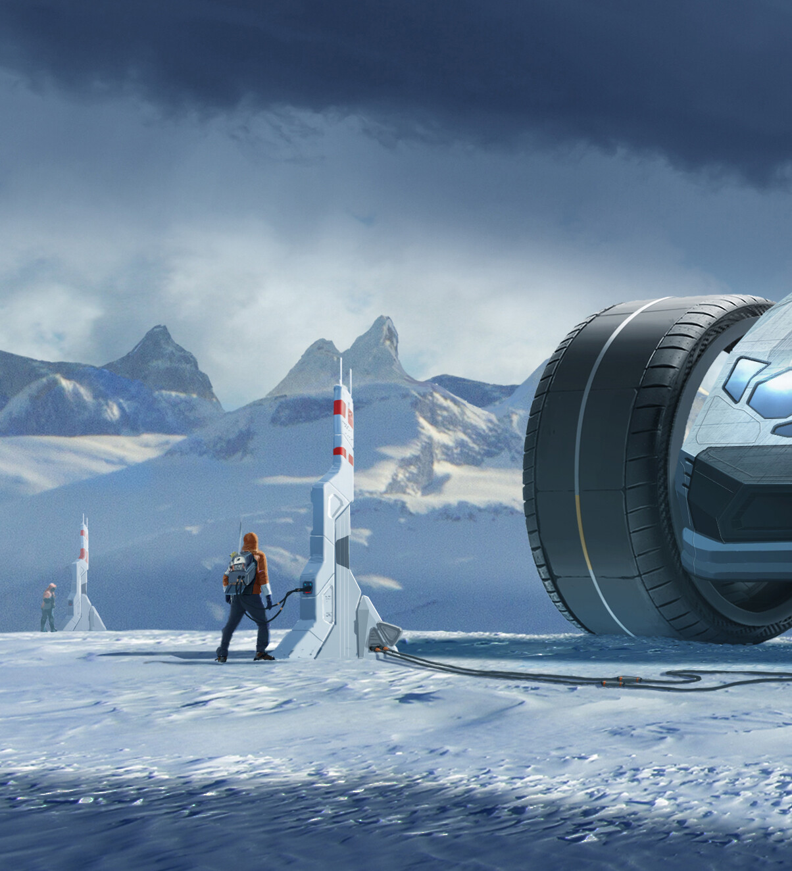 Glacier detail 1