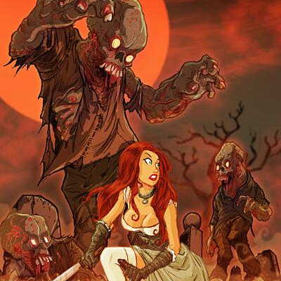 David hartman graveyard mutants by hartman by sideshowmonkey dk54kk