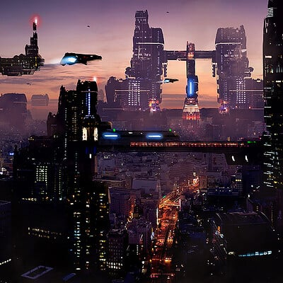 Dusty crosley scifi city 1 4 22 20