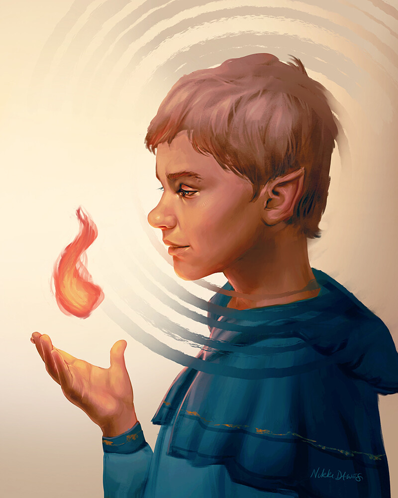 Puck, young gnome wizard