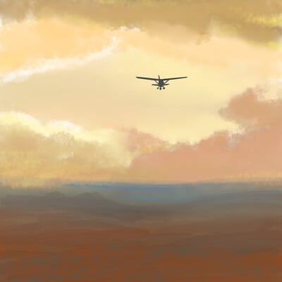 Rohvannyn shaw cessna sunset