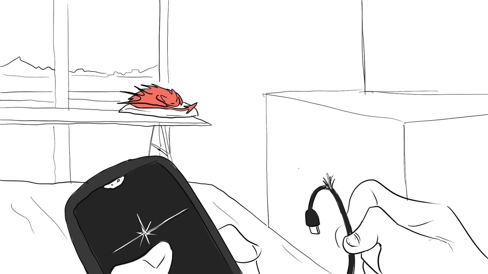 Our little Devil. Storyboard Panel