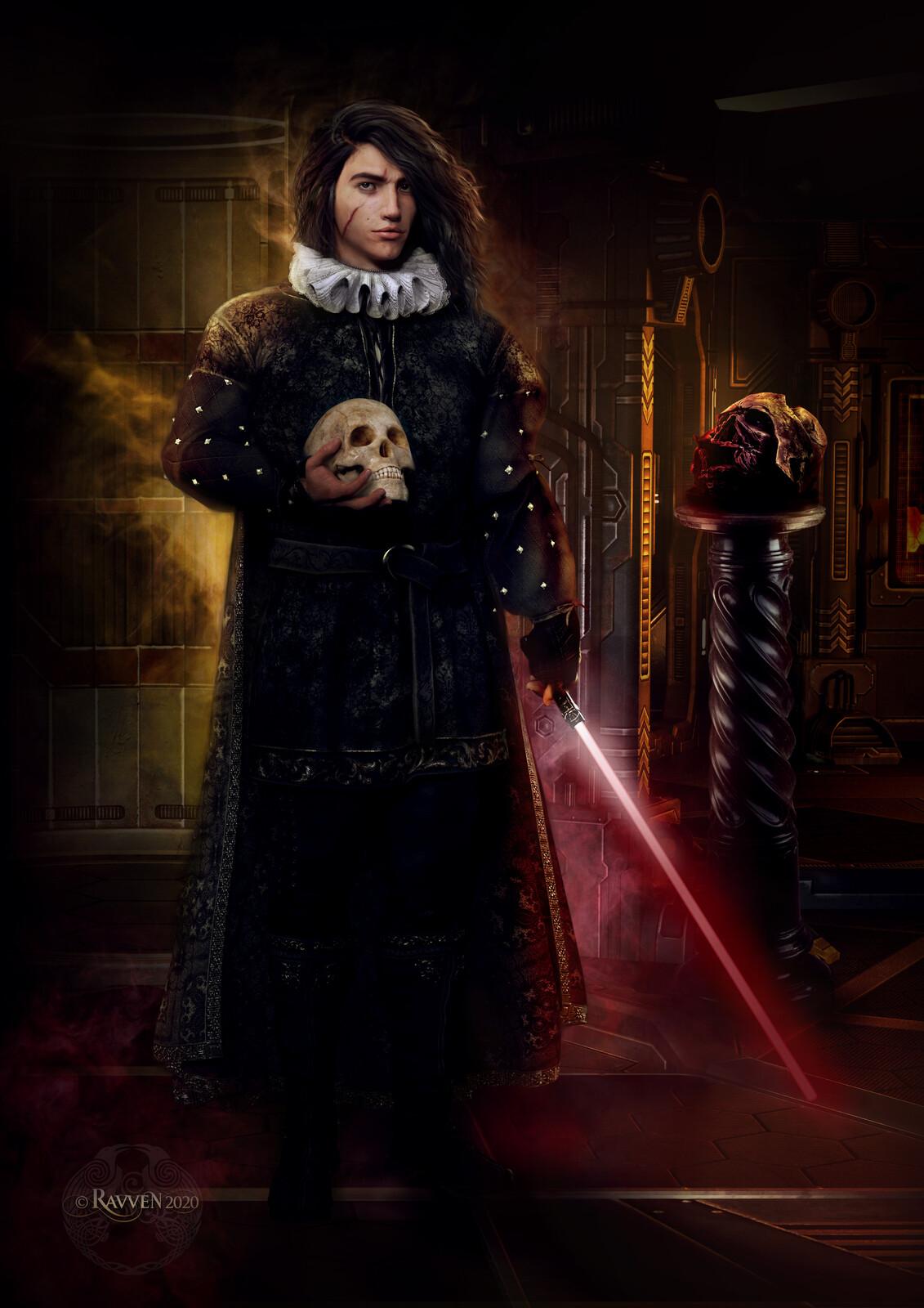 Kylo Ren Hamlet