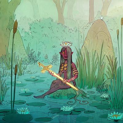 Corentin asproni la dame du lac inprnt