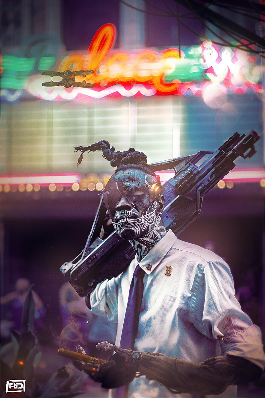 New York 2130 : Vodu gang member