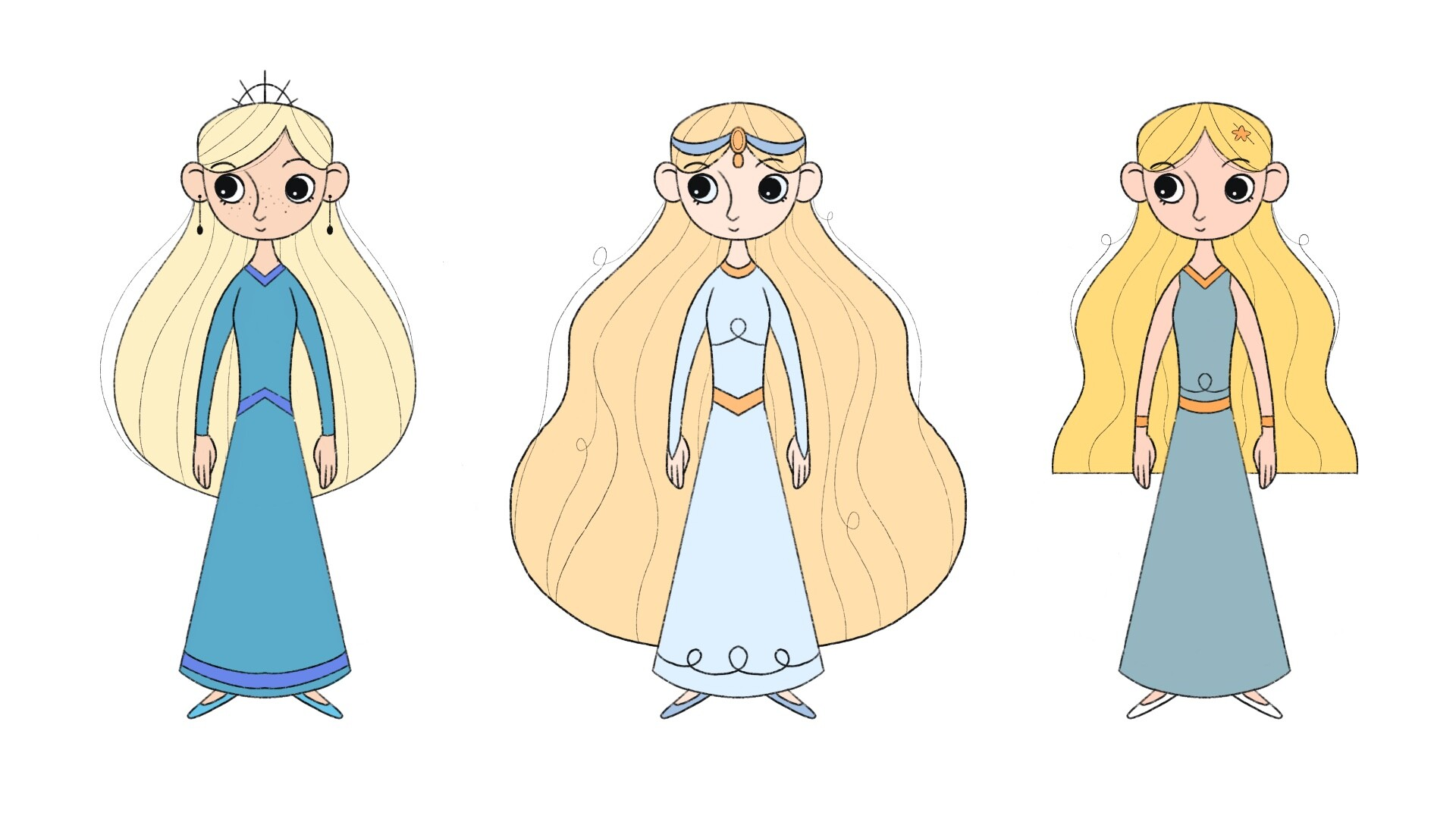 Niamh Smith   Own character in the style of Cartoon Saloon