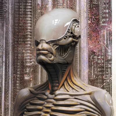 Alex dubnoff alien meditation