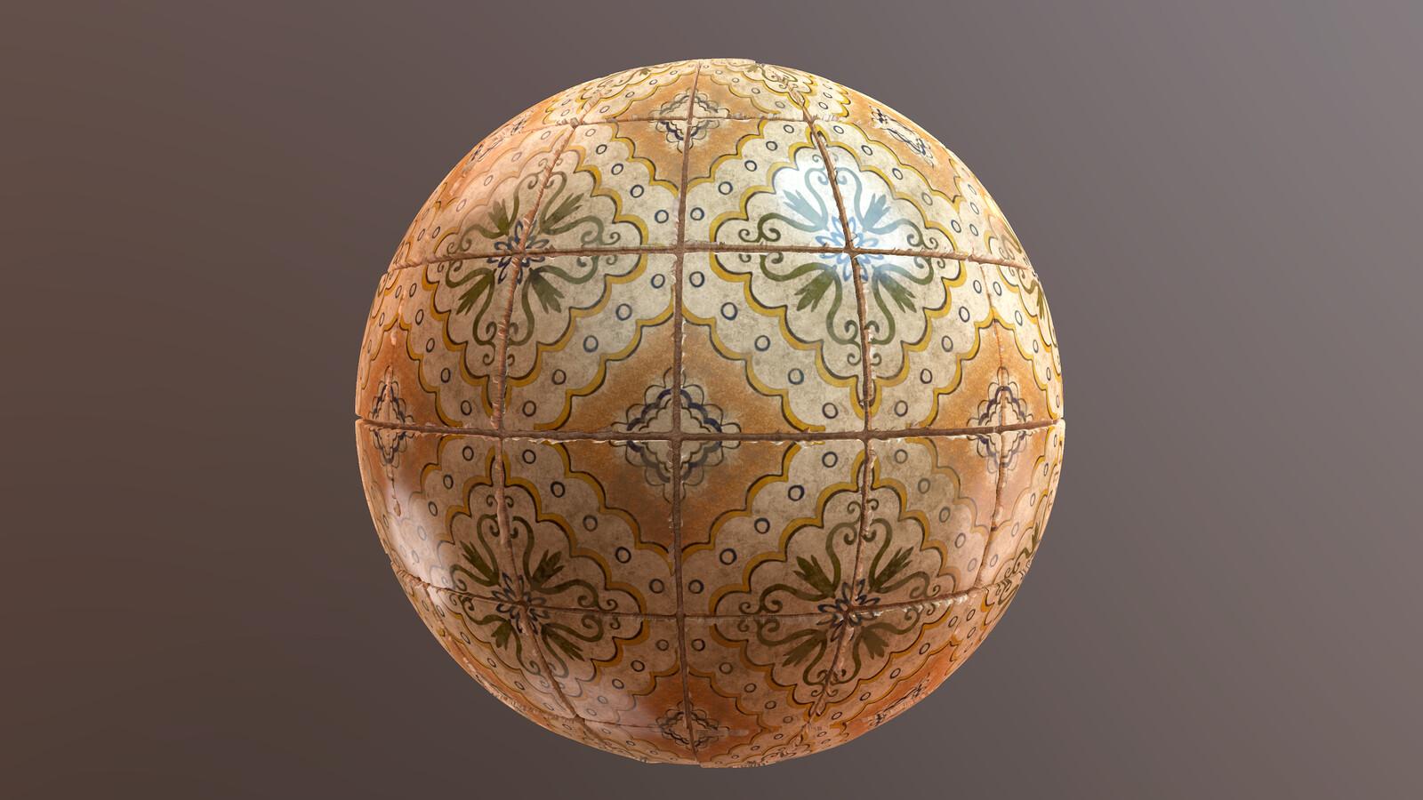 Antique Italian Tiles