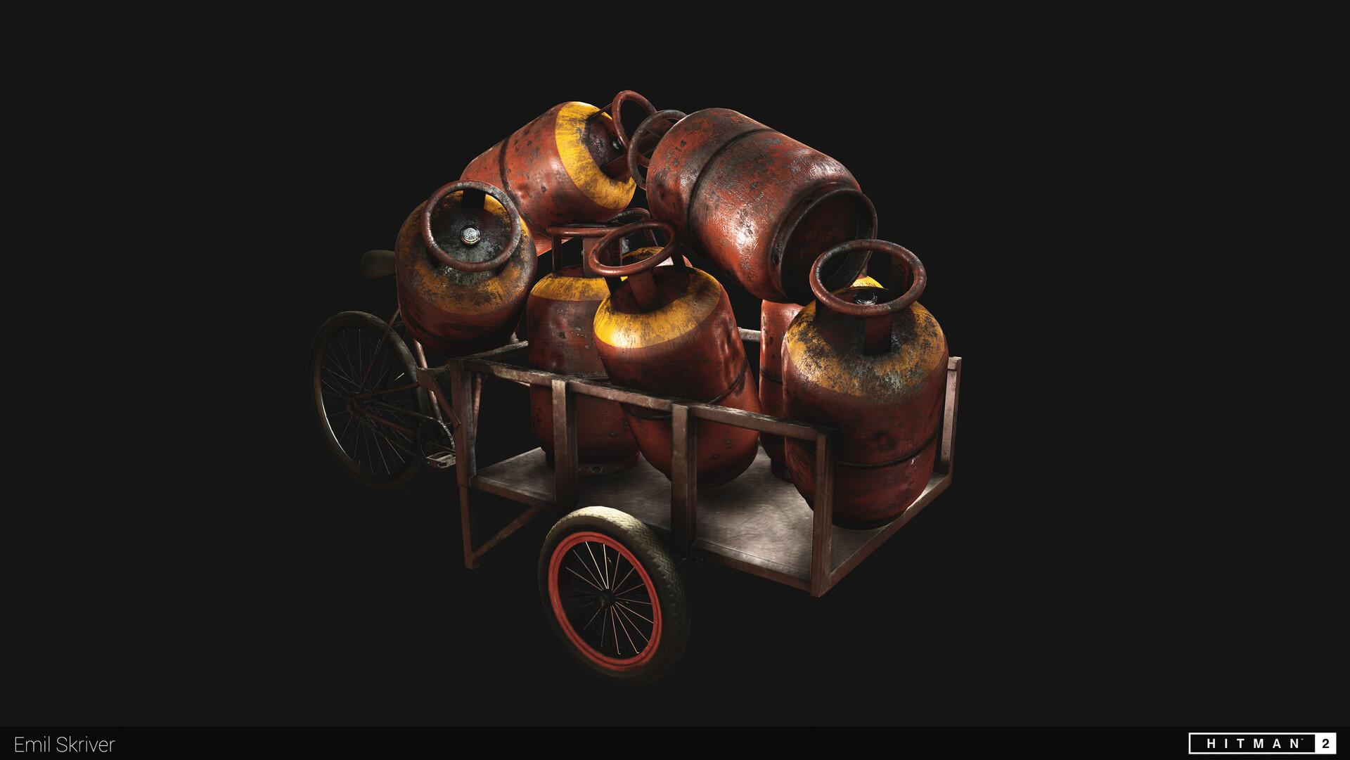 Explosive bike