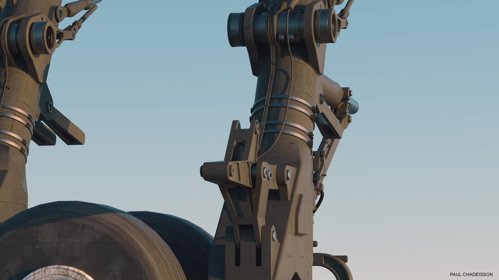 Gear detail