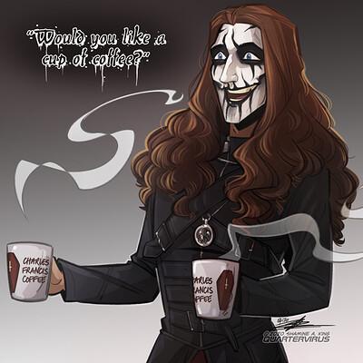 Shamine king would you like some coffee da