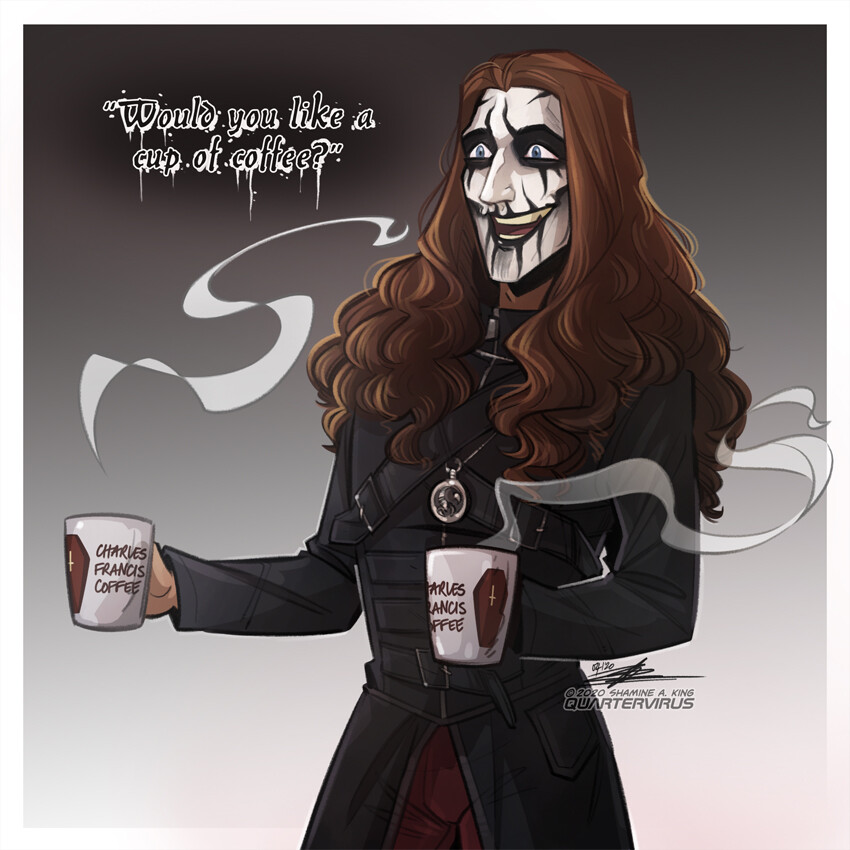 Inspired by that time Carach Angren took on the local Christian Party in Amstelveen.... and won by being absolute gentlemen <3  https://www.youtube.com/watch?v=YNlx8D4qGVE&t=4s