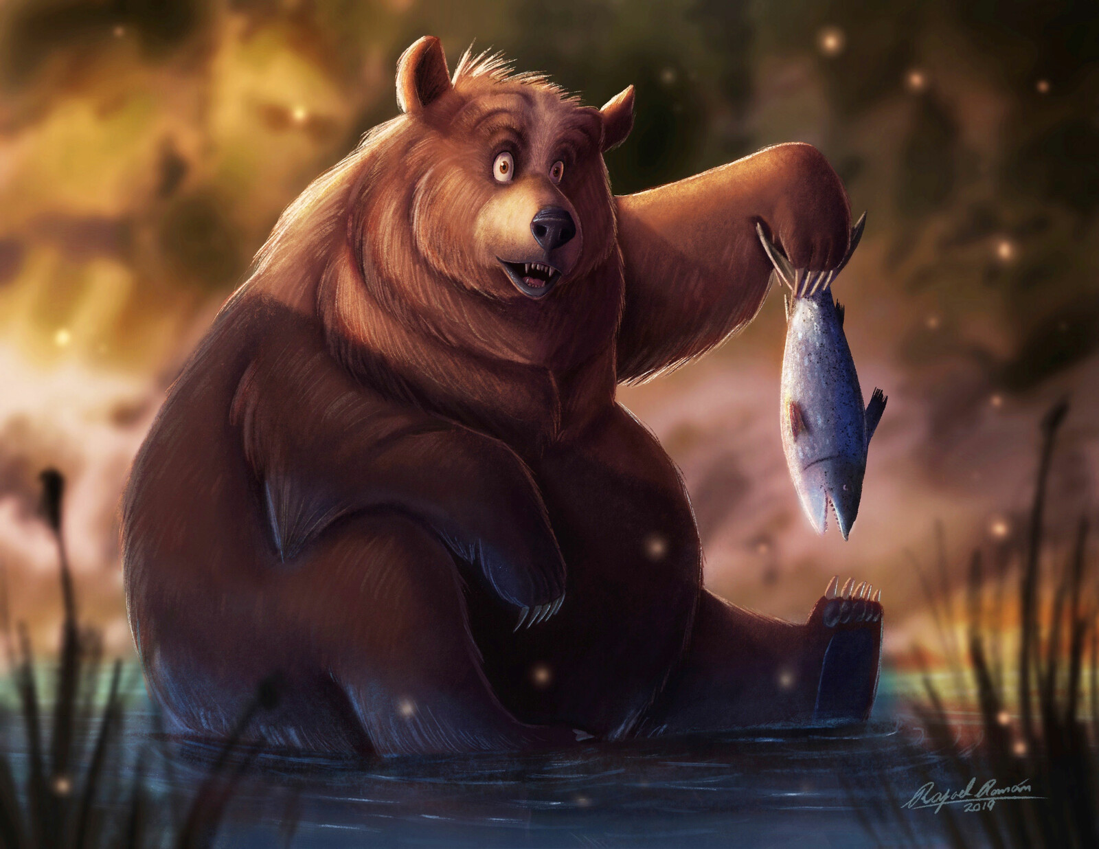 Fat Bear Fishing
