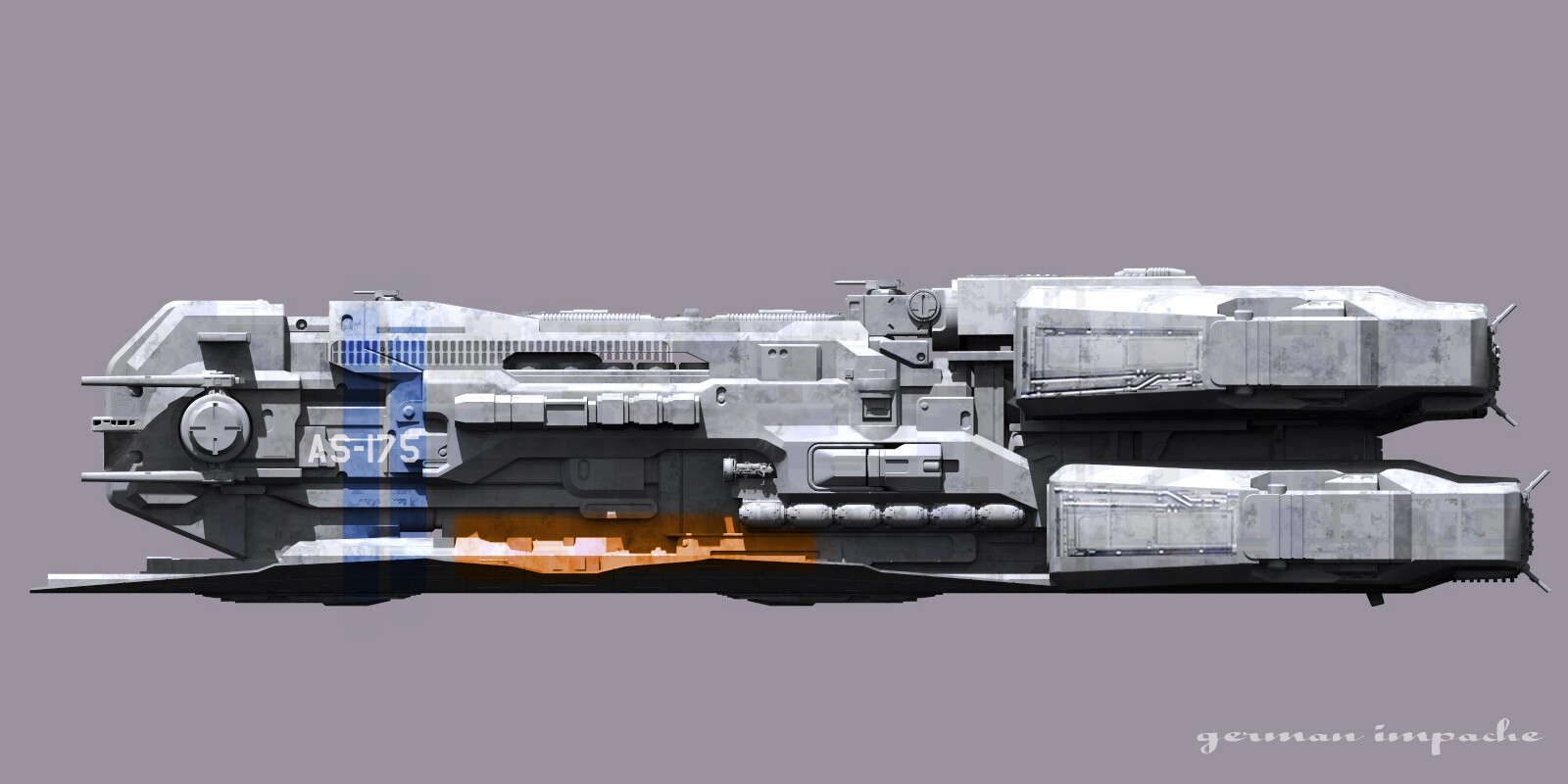 ufs BARRACUDA  Heavy Cruiser