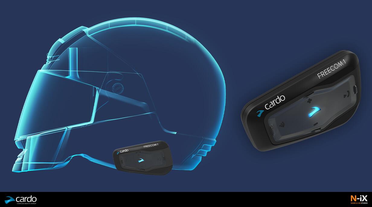 Cardo FREECOM 1 Communication system