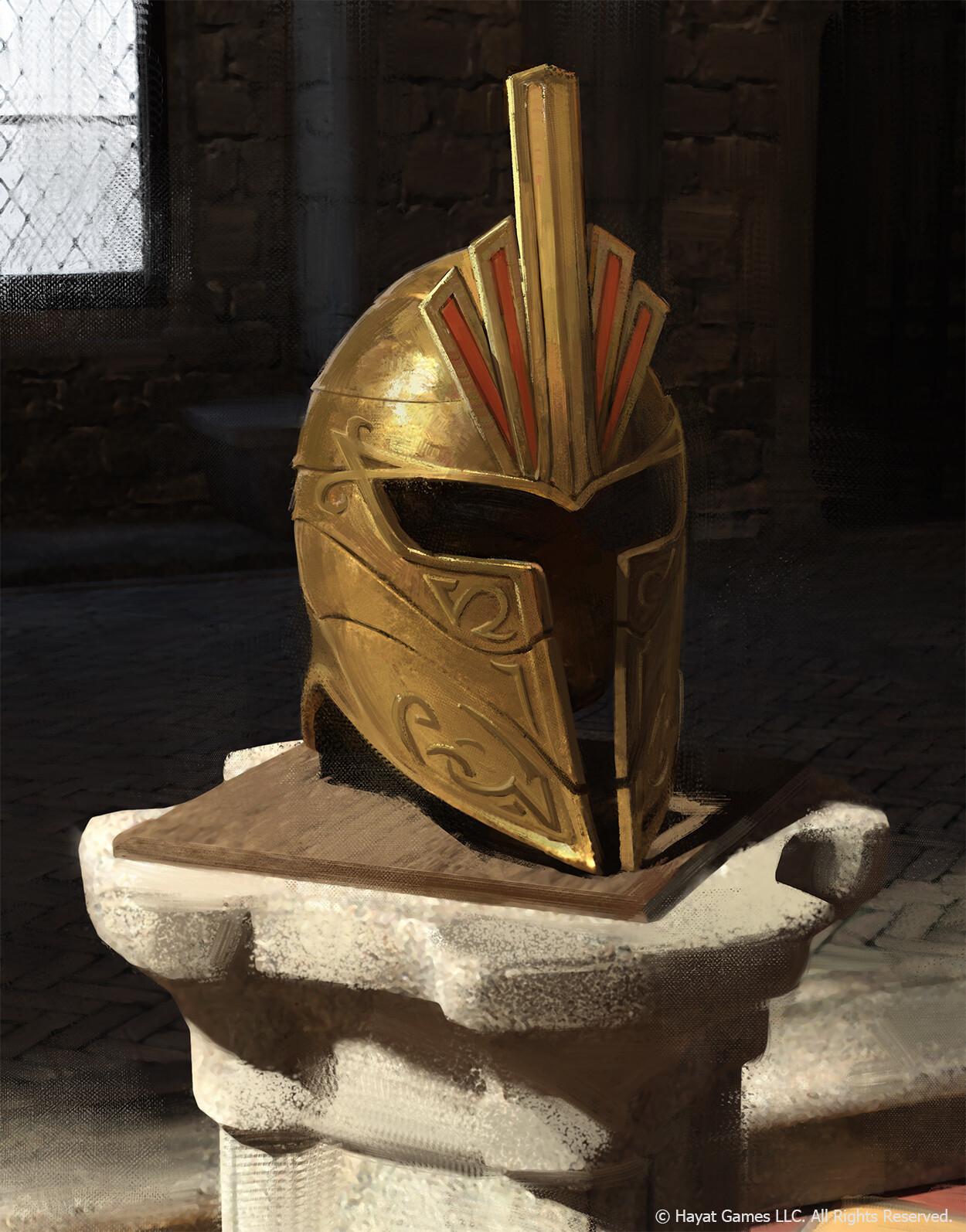 Bright Helmet