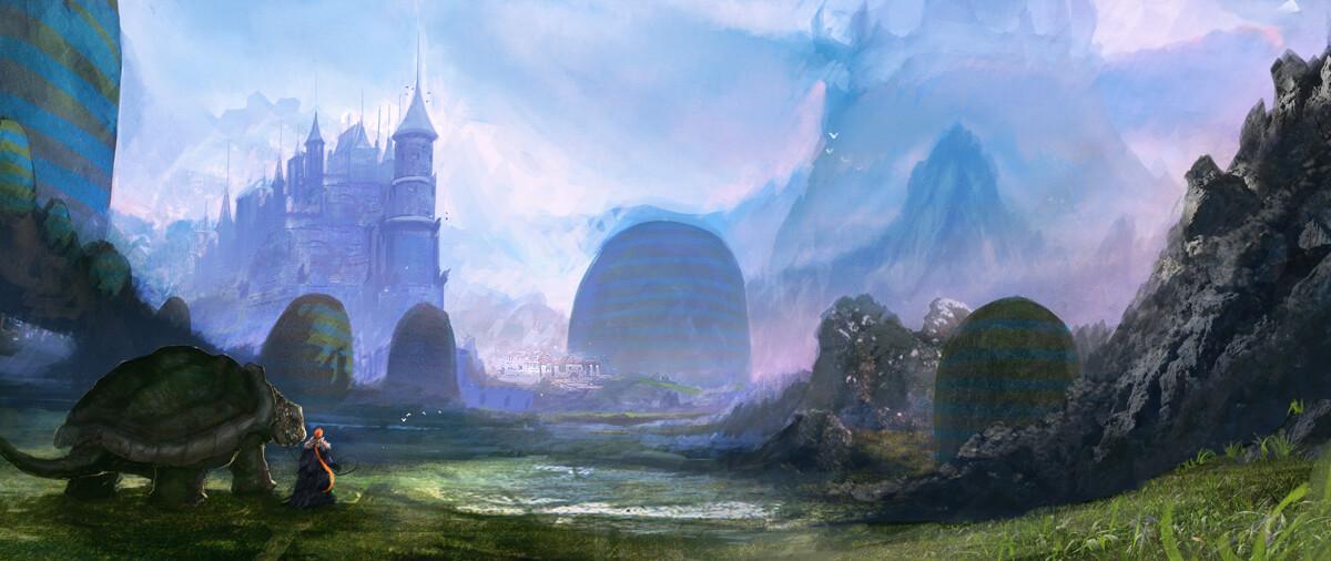 Weird Hills Kingdom concept art