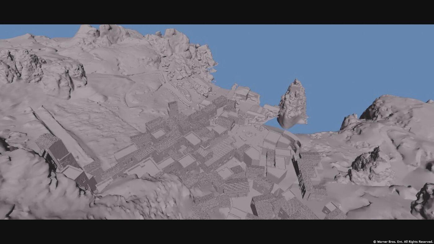 Lidar, Photogrammetry, and Set rebuild