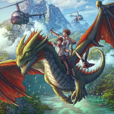 Kerem beyit the dragon thieves second cover final rev