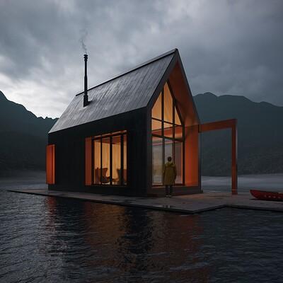 Miguel armendariz lake cabin