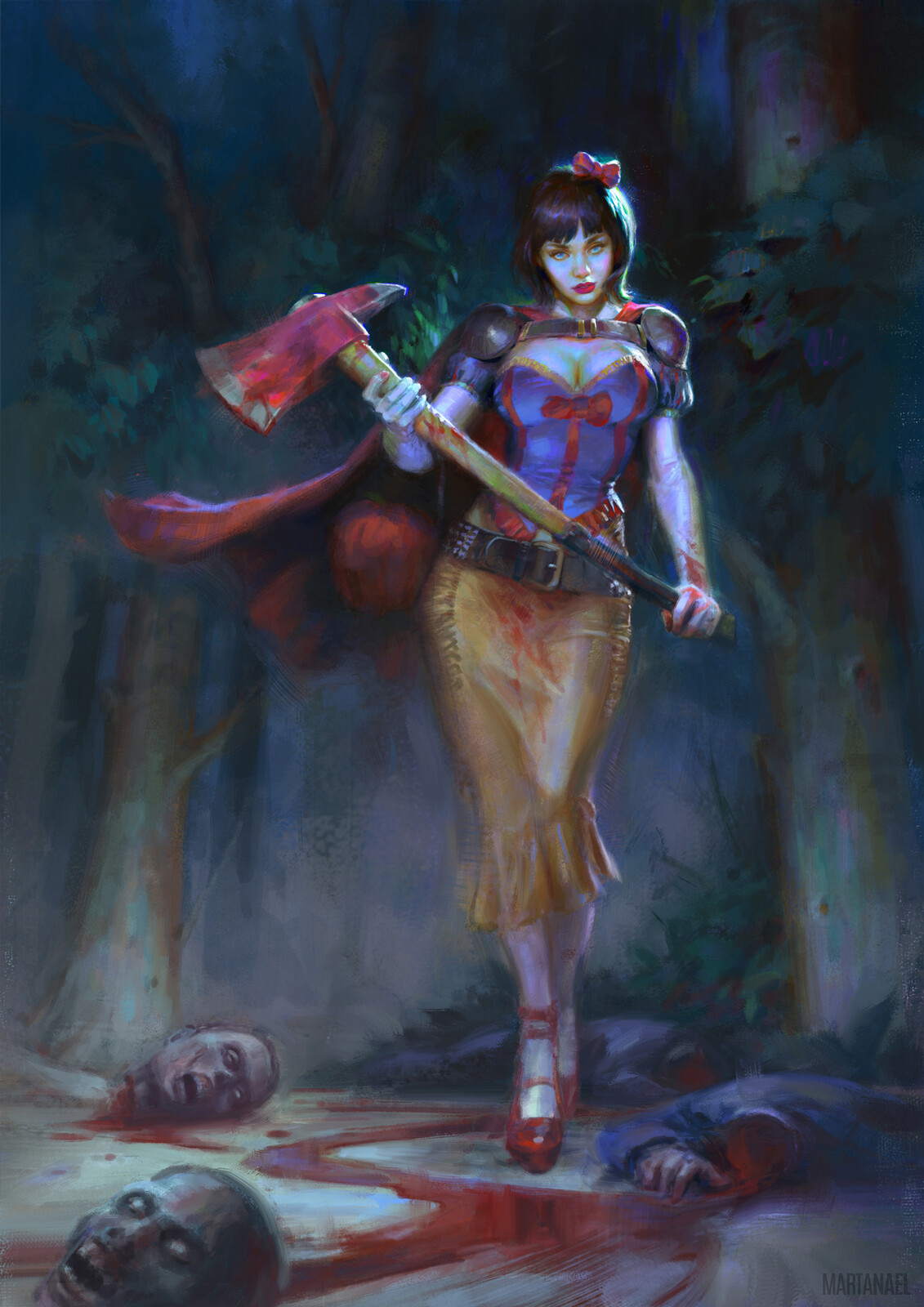 Snow White - Princesses vs Zombies comic cover
