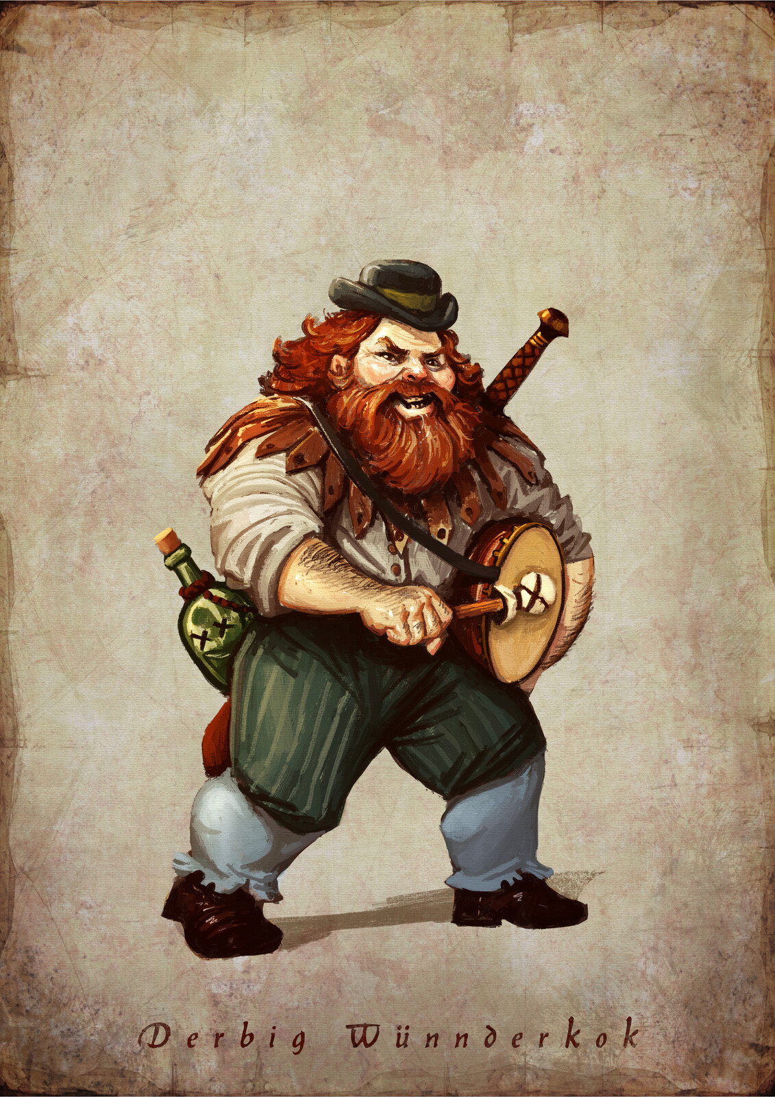D&D Characters for rpg