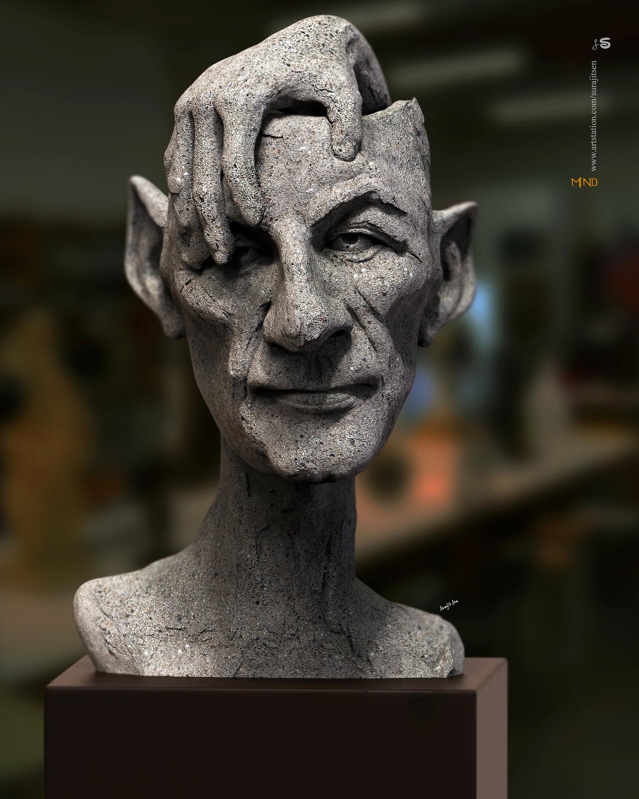 Mind1.0 Digital Sculpture.