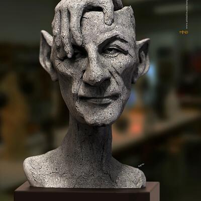 Surajit sen mind1 0 digital sculpture surajitsen april2020a