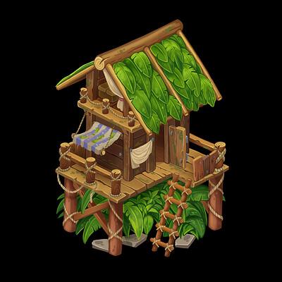 Oixxo art tree house