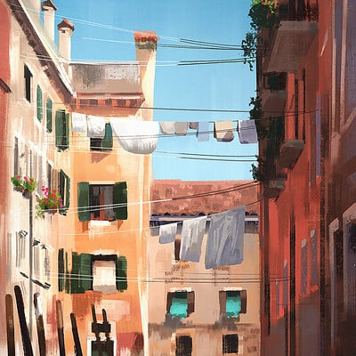 Madeleine bellwoar venice photo study paint s