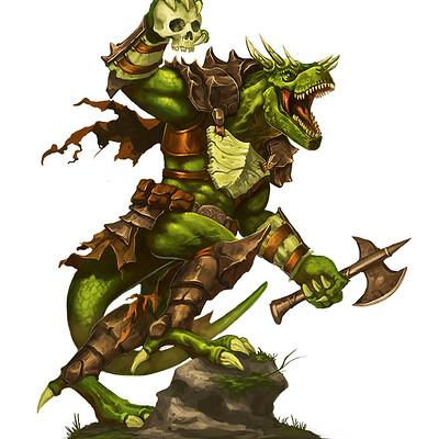 Eric quigley lizardfolk 1 2