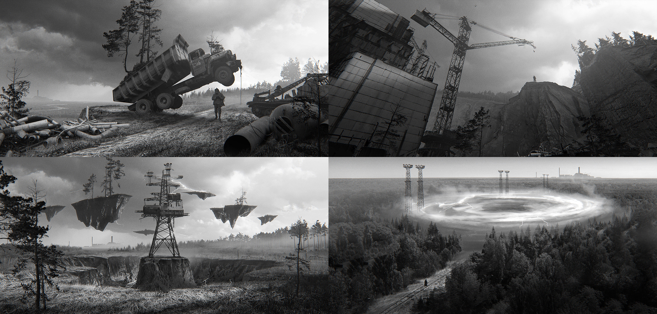 few concepts to find the right design of the location