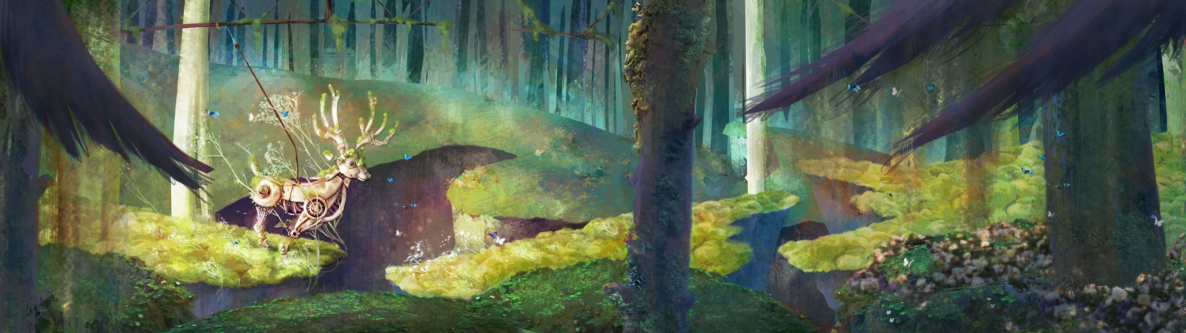 Concept painting - sunlight