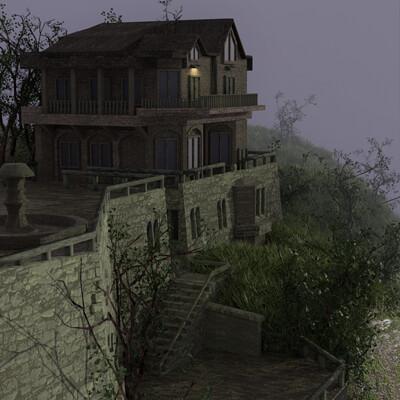 Kai dennis hill mansion redid