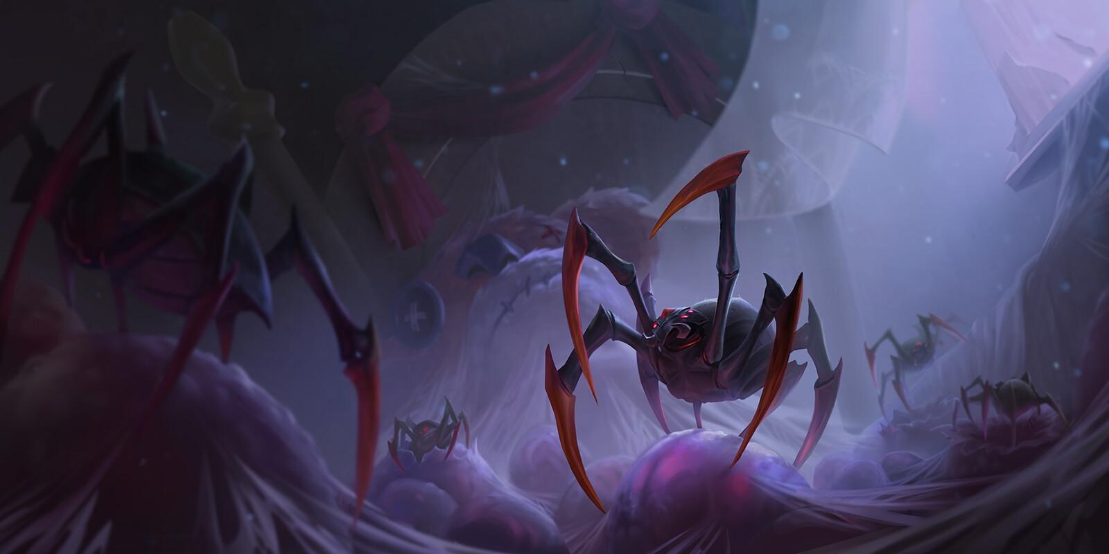 House Spider Card Art