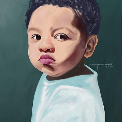 Rye adriano cute baby
