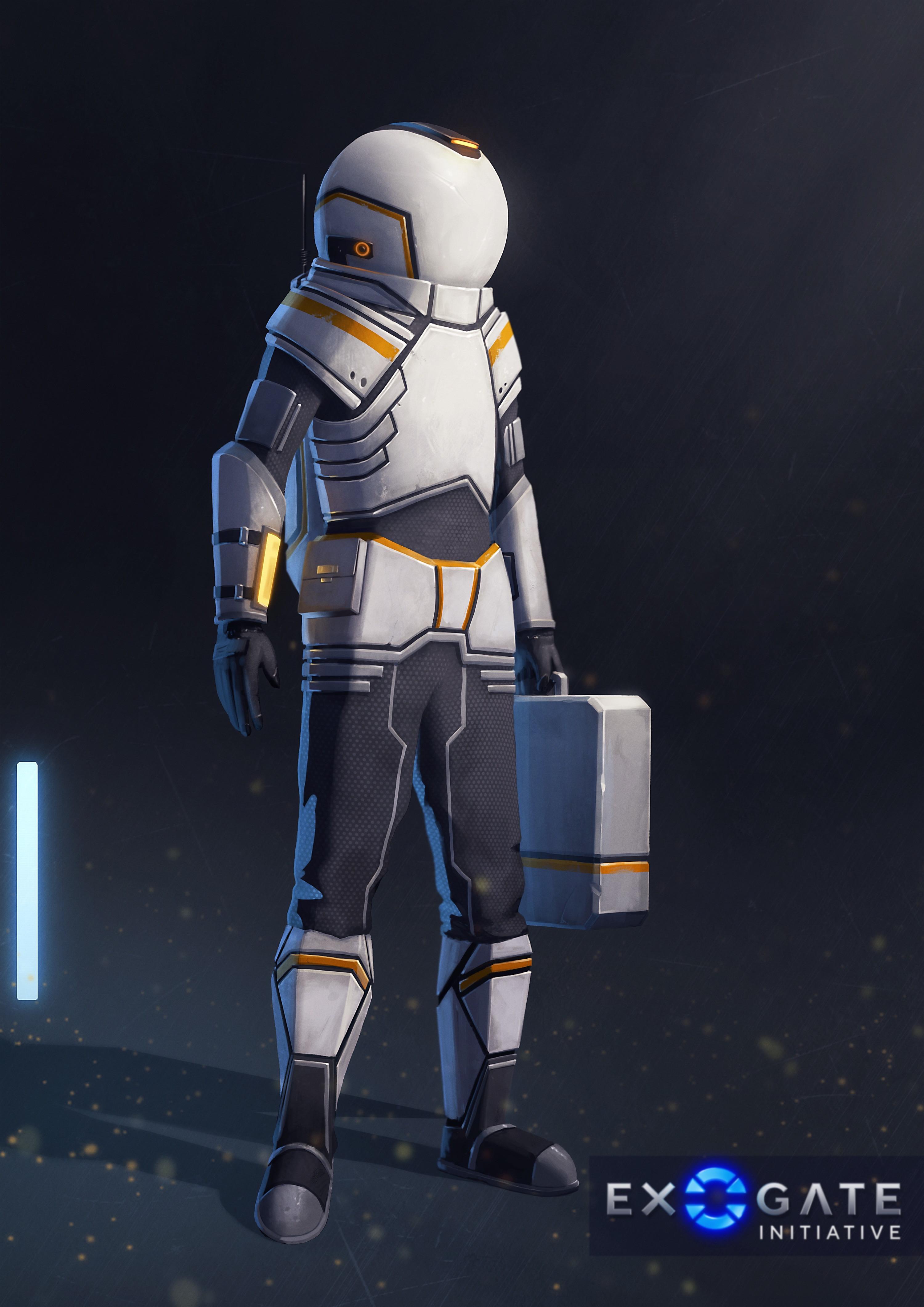 Space exploration suit - Light variant