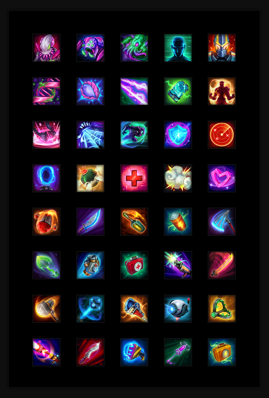 In Game Ability Icons