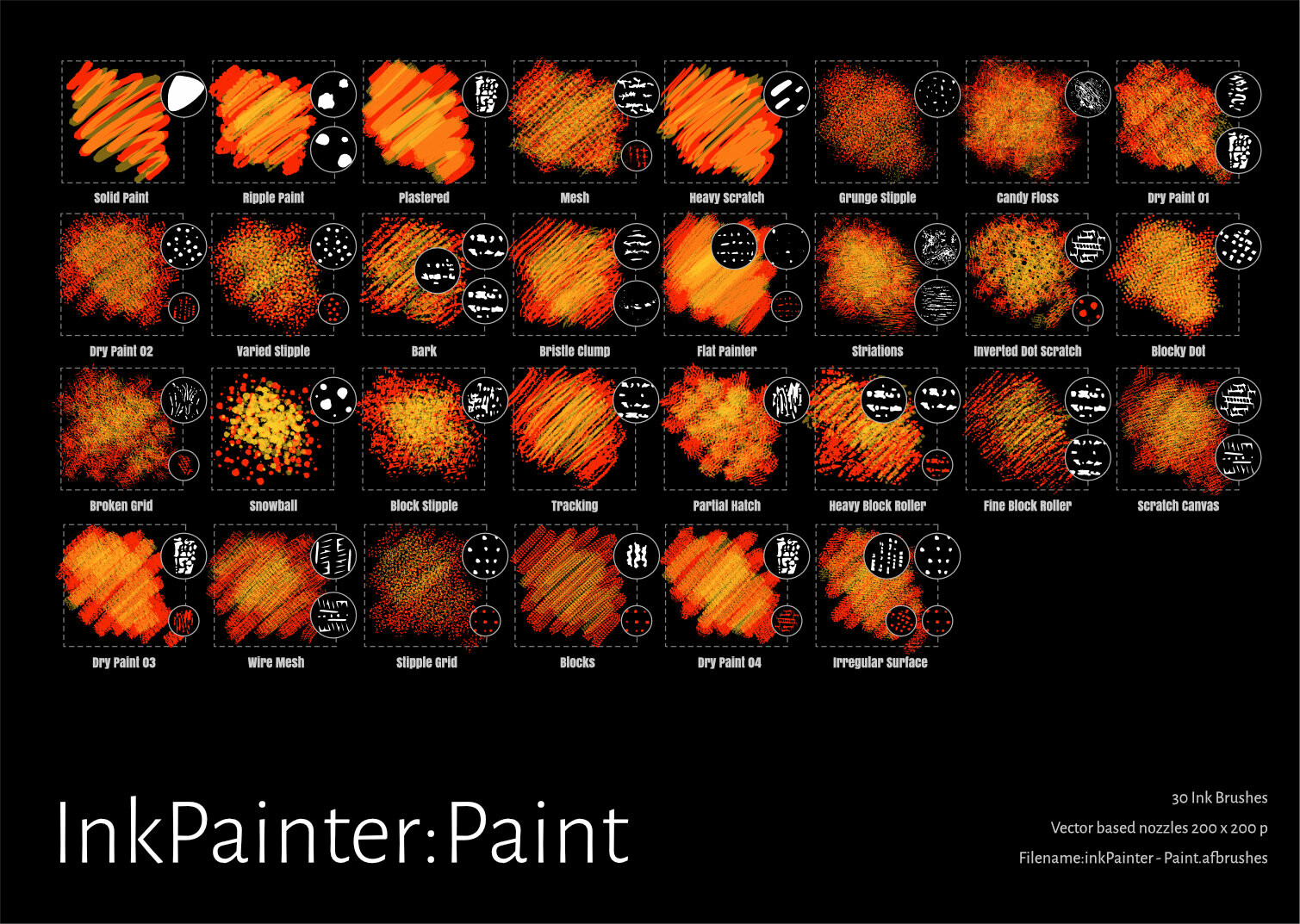 InkPainter Paint Brushes