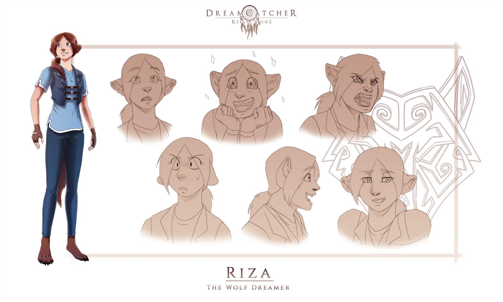 DreamCatcher: Reflections - Riza Ref