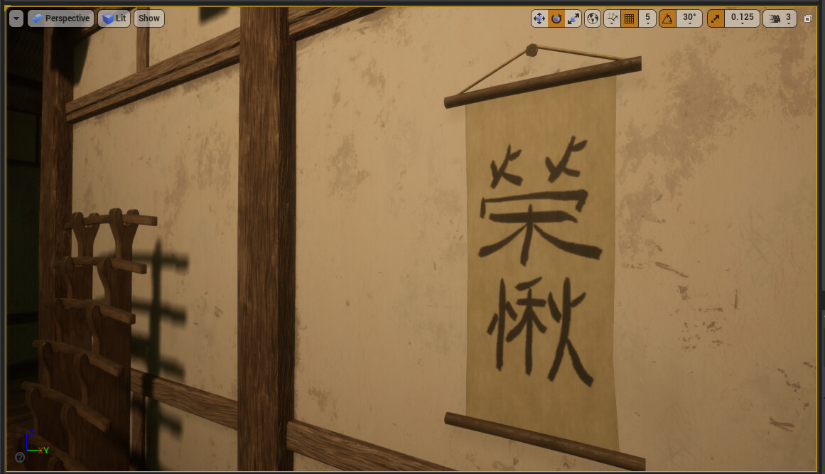 """Kanji characters meaning """"Honour"""" and """"Respect."""" Hand painting kanji is a difficult art form in and of itself. Much respect."""