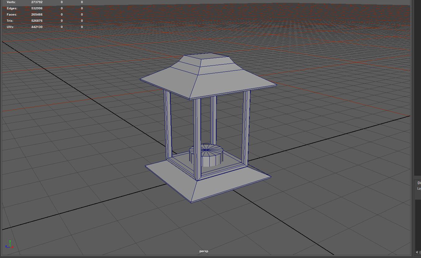 WIP for the lantern model.