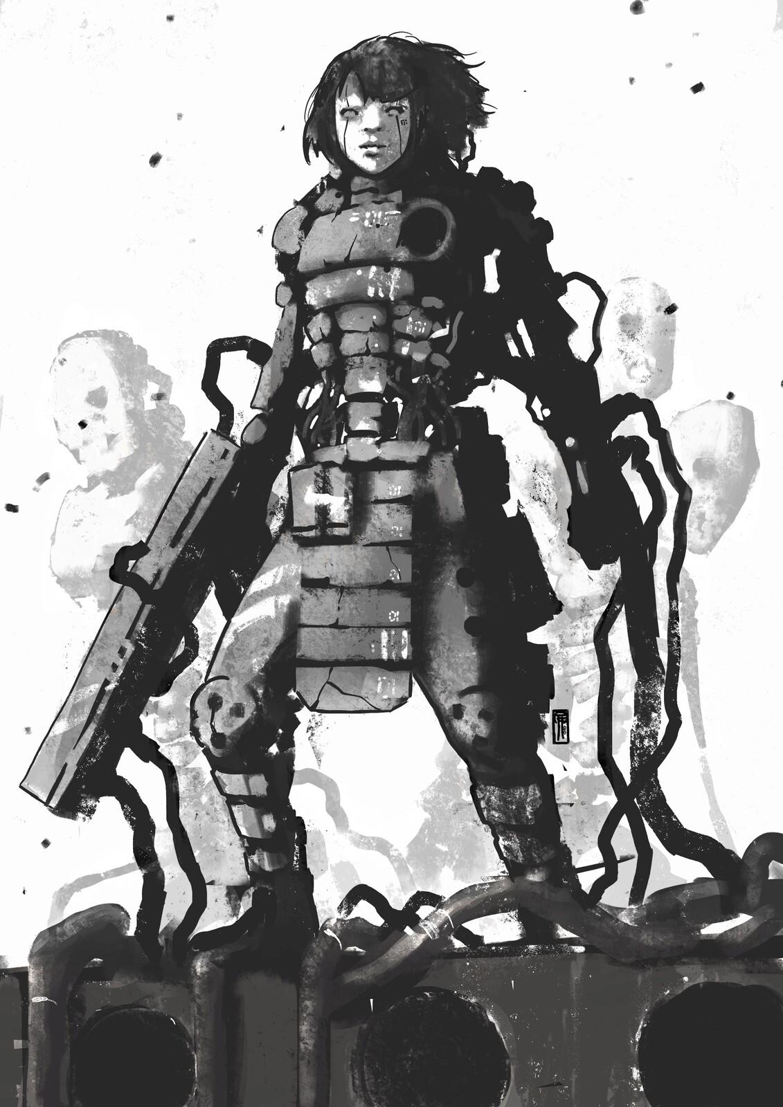 Control Gate Unit//Mk-01