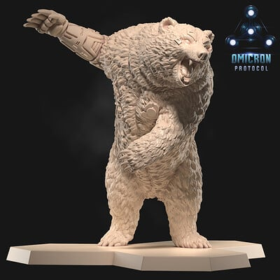 Andrew martin bear output