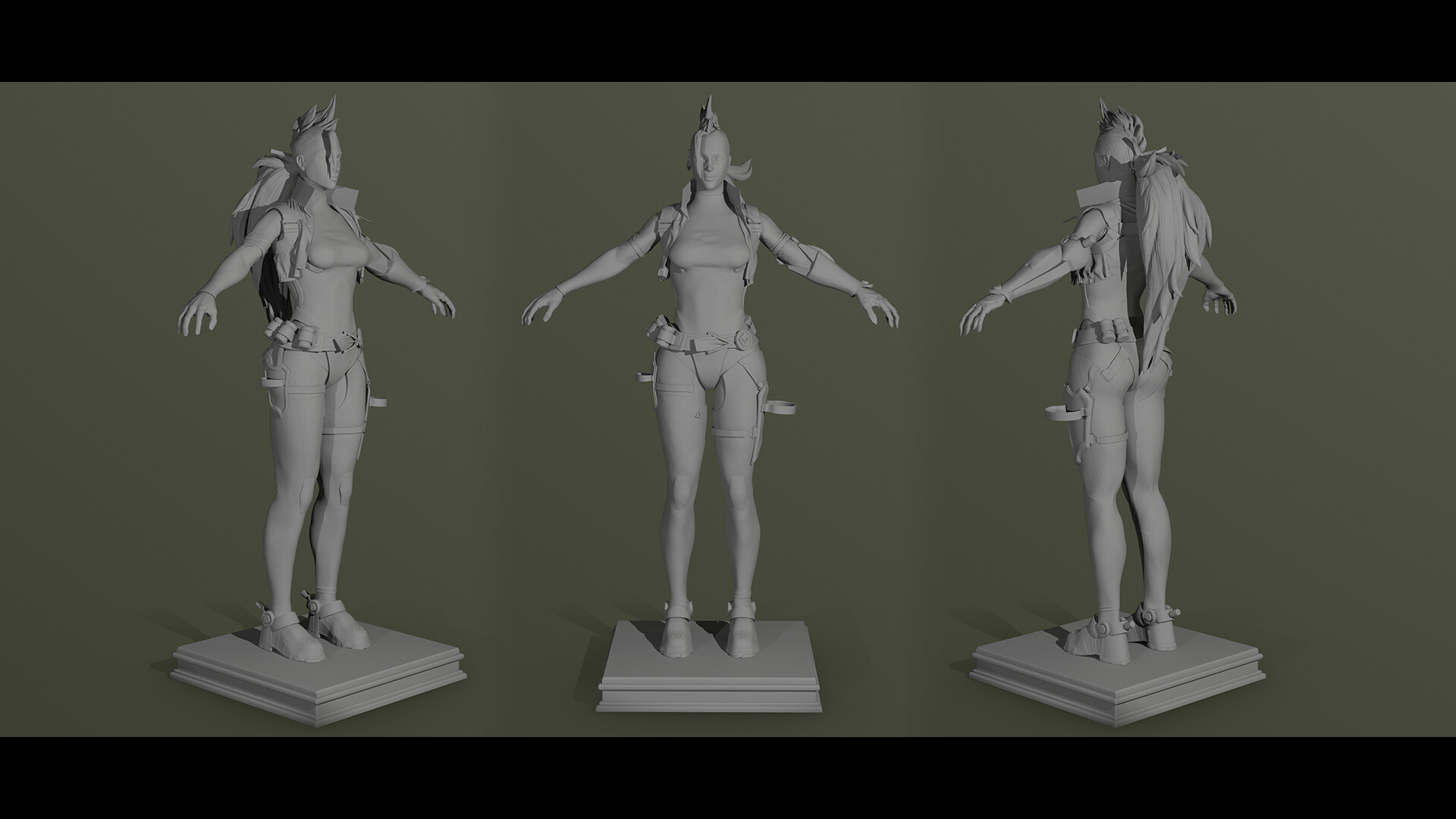 High Poly Model