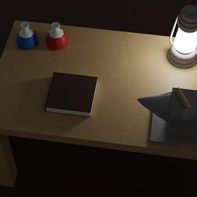 Vladimir almonte work table