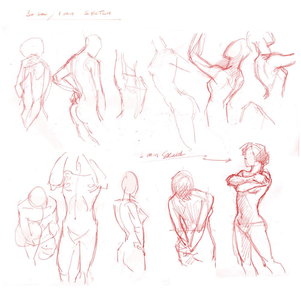 1 minutes sketch