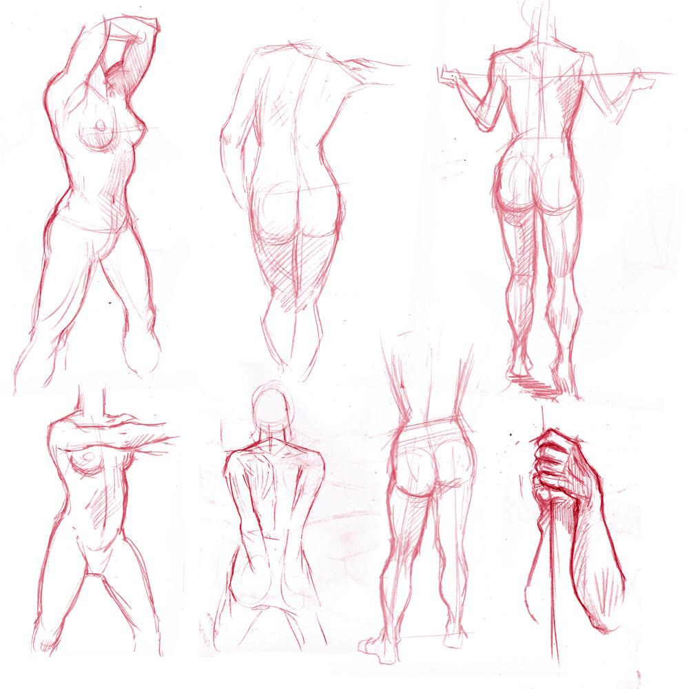 3 minutes sketch